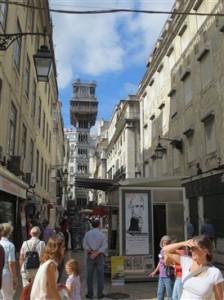 Lissabon_Aufzug