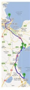 Tunesien_Route