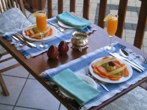 Südafrika_Villa_Victoria_Frühstück