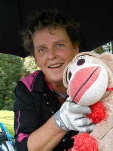 Silvia ist die Meisterin des tschechischen Golfclubs 2014