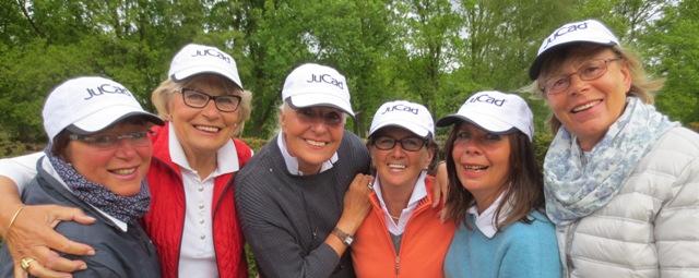 1. Lütetsburg Liga AK 50 Leonie, Barbara, Annelie, Edda, Grace, Karin (o.Abb.), Line als Ersatzspielerin