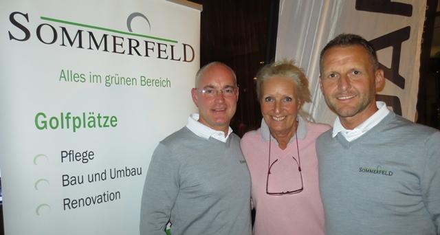 Frank Sommerfeld mit Annelie und Ingo Staats